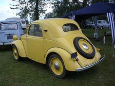 Excellent vintage cars detail is readily available on our site. Auto Retro, Retro Cars, Vintage Cars, Ferrari F80, Automobile, Microcar, Mini Camper, Yellow Car, Mini Trucks