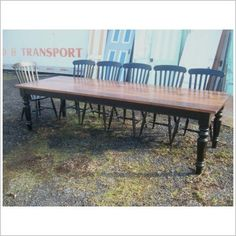 Nice harvest table in reclaimed wood $1,995 in Cornwall ON