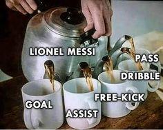 How it be feeling this season 👀 . Messi And Ronaldo, Free Kick, Lionel Messi, Neymar, Leo, Kicks, Character Design, Goals, Feelings