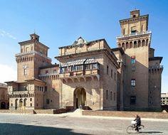 The Este Castle, Ferrara. Home of Lucrezia Borgia and her 3rd Husband, the Duke d'Este