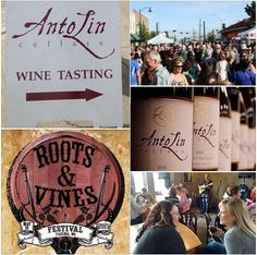 Come on out to AntoLin' Cellars Front yard Saturday, May 16th, for a celebration of Americana, Roots & Bluegrass music, wine and food. 8 hours of music from 2-10pm.  Live music by The Common Deer, Fruition, Polecat, Sleepy Man, Hillstomp, Blake Noble Band, Lil' Smokies, Vaudeville Etiquette, and John Dunnigan.  https://www.facebook.com/rootsandvinesfest