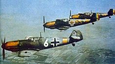 German Luftwaffe and Romanian Air Force fighter planes patrol over the crucial Ploiesti oil fields in Romania, ensuring they remain well defended from the looming threat of Allied bombing raids. Ww2 Aircraft, Aircraft Carrier, Military Aircraft, Luftwaffe, Fighter Pilot, Fighter Jets, Focke Wulf 190, Battle Of Britain, Royal Air Force