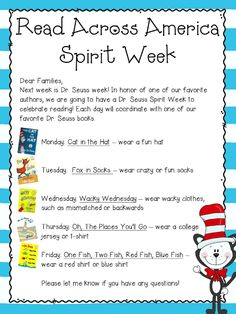 Getting Ready for Reading Week!