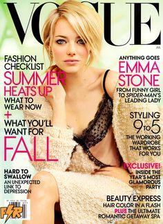 Vogue US July 2012: Emma Stone by Mario Testino