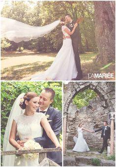 Meredith esküvői ruha - Pronovias kollekció - Petra menyasszonyunk  http://mobile.lamariee.hu/eskuvoi-ruha/pronovias-2015/meredith
