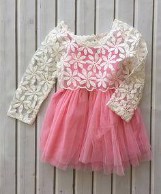 Look at this #zulilyfind! Pink Overlay Tank Dress - Infant, Toddler & Girls by Chicaboo #zulilyfinds