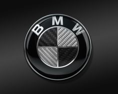 Image for BMW Logo Black and Silver #345