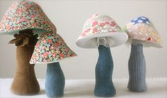 sponginess and some irregularity / mushrooms by Ann Wood