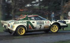 Munari 1977 RAC Rally, in the famous Alitalia colours (Lancia Stratos HF) Sport Cars, Race Cars, Fiat Abarth, Rally Car, Car And Driver, Motor Car, Concept Cars, Cars And Motorcycles, Porsche