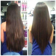 32 Best V Cut Hair Images Hair Ideas Hairstyle Ideas Hair Makeup