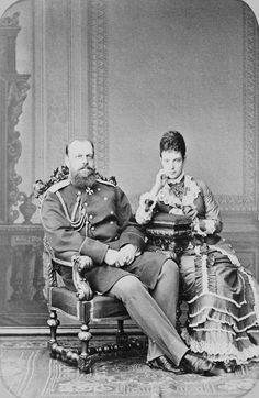 Tsar Alexander III and Empress Marie Feodorovna of Russia | Royal Collection Trust
