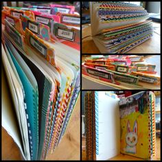 Made by Nicole: Daily Planner for 2014 Part Two: Pages and Tabs