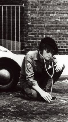 John Lennon. Not really Blues, I just liked this picture......