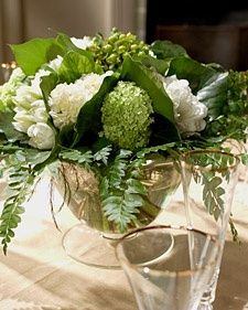 Beautiful Floral Arrangement Table Decoration for St. Patricks Day
