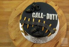 video game cake!!! he would love this