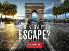 From the historical landing beaches in Normandy to the vibrant city of Paris to Spain's relaxing resort of Costa del Sol, Cosmos offers you affordable vacations throughout France, Spain and Portugal.  #TravelTips #EscortedTours #Europe #Escape