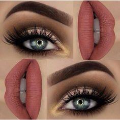 "Glitter 💖BROWS: Dipbrow ""Chocolate"" ✨EYES: Semi-Sweet palette ✨ Super foils shadow on the lid ✨ Tartiest metallic shadow ""Hussy"" ✨ ""iconic lashes"" ✨ eye pencil ""darkest shadow"" ✨LIPS: Velvetine liquid lipstick ""Bleached"" ✨ Makeup Goals, Love Makeup, Makeup Inspo, Makeup Inspiration, Makeup Tips, Beauty Makeup, Makeup Quiz, Dress Makeup, Makeup Tutorials"