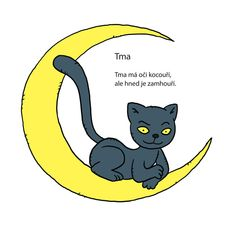 Tma ('Dark') | básnička s obrázkem