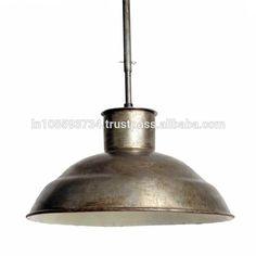 Acabados rústico Pingente Lâmpada Industrial Do Vintage