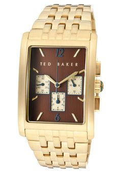 Price:$65.00 #watches Ted Baker TE3015, When it's time to upgrade your timepiece collection, choose this gorgeously designed Ted Baker watch. This is sure to be every man's favorite accessory.