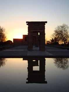 Templo de Debod, Madrid this was the first place i visted in spain