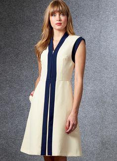 Vogue Patterns Sewing Pattern Misses' Dress Vogue Patterns, Miss Dress, Dress Sewing Patterns, Pattern Sewing, Sewing Ideas, Fashion Sewing, Designer Dresses, Vintage Dresses, Fashion Dresses