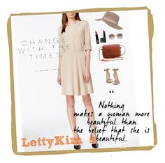 """""""Notations-1"""" by letty-kims on Polyvore featuring NY Collection, NARS Cosmetics, Lord & Berry, Gianvito Rossi, Gucci, Topshop, onepiece, nudetone, lettykim and notations"""