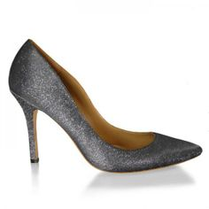 Zulia - Pointed Toe Pump / Glitter