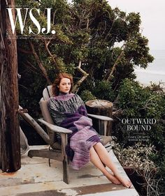 Emma Stone on the Cover of WSJ. Magazine by Angelo Pennetta, styled by Francesca Burns.