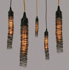 35 striking recycled lamps that are borderline genius - Blog of Francesco Mugnai