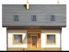 DOM.PL™ - Projekt domu ARN CYNAMON CE - DOM RS1-29 - gotowy koszt budowy Diana, Garage Doors, Outdoor Decor, Home Decor, Decoration Home, Room Decor, Home Interior Design, Carriage Doors, Home Decoration