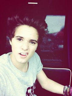 Brad Simpson!!! Probably my favorite British boy... SO cute!, he has a great voice!, and he can play the guitar ukulele and piano!
