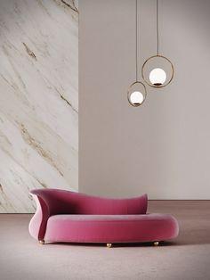 AMPHORA | Day bed By Desforma Eclectic Furniture, Unique Furniture, Sofa Furniture, Furniture Design, Urban Furniture, Street Furniture, Divani Design, Unique Sofas, Elegant Sofa