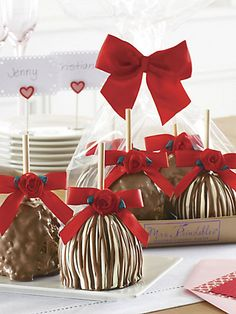 Mrs. Prindable's  see more here:Sweetheart Chocolate Apples