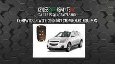 How To Replace A Chevrolet Equinox Key Fob Battery 2010 2016