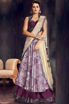 Looking for Ethnic Wear for Women? Buy from the latest collection of Indian ethnic outfits, dresses & designer clothes for women. Lehenga Choli, Brocade Lehenga, Lehenga Style Saree, Anarkali Gown, Sari Blouse, Saris, Indian Sarees, Silk Sarees, Eid Dresses