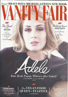 Vanity Fair magazine Adele The Daily Show Exorcism Brideshead Revisited Design