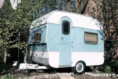 VINTAGE FISHER HOLIVAN CARAVAN by Vintage Caravan of Creativity, via Flickr
