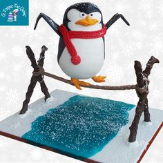 "Gravity Cake.Penguin Of Madagascar ""SKIPPER"" !!!"