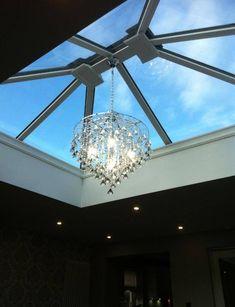 Lantern Roof Light, Lanterns, Chandelier, Entrance Ideas, Ceiling Lights, Lighting, Google Search, Kitchen, Home Decor