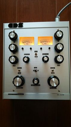 Compact Disco Soundsystem DS223FW - Custom built 2 channel + 2 EQ/isolator, chip based design.
