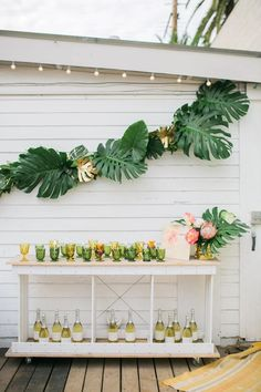 Neat idea for porch or party
