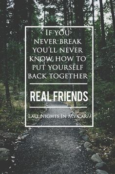 Late Nights In My Car - Real Friends
