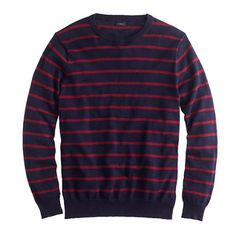 cotton crewneck sweater / j.crew