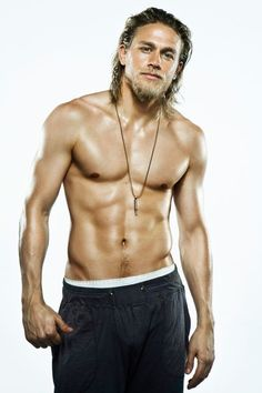 His face and body are out of this world. I think few who've watched his show Sons of Anarchy would disagree.