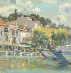 David Curtis, Harbour Moorings.