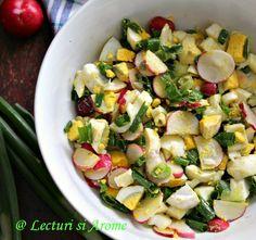 New Recipes, Salad Recipes, Vegetarian Recipes, Cooking Recipes, Healthy Recipes, Good Food, Yummy Food, Romanian Food, Yams
