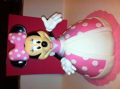 Minnie Mouse Cake--a twist on the princess cake!
