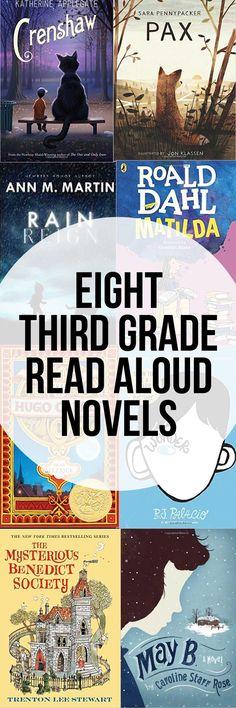 8 Third Grade Read Aloud Novels