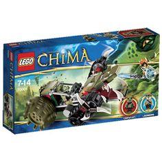 Acheter LA CROC' GRIFFEUSE DE CRAWLEY - LEGO CHIMA - 70001 de LEGO chez Jouéclub http://www.joueclub.fr/jeux-et-jouets/LEGO/LA-CROC-GRIFFEUSE-DE-CRAWLEY-LEGO-CHIMA-70001-/04043163.aspx